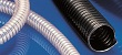 Smooth bore, heavy duty, abrasion resistant, black, high-temperature polyurethane flexible ducting hose