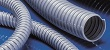PVC341 is a medium weight, smooth bore, grey PVC with embedded steel wire helix flexible ducting hose.