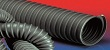 Black thermoplastic rubber (TPE) high-temperature flexible ducting hose