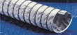 Lightweight flexible high temperature ducting hose with clamp profile designed for aggressive gas extraction
