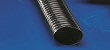 Lightweight flexible ducting hose abrasion proof and electrically conductive PE ducting hose for aggressive solids, gases and chemicals