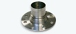 Flanged couplings according to DIN PN 16 and PN 10. Smooth hosetail with safety collar and fixed flange. Made from steel, for safety clamps assembly.