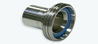 Hygienic Stainless Steel Male RJT Coupling with Hose Tail