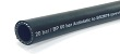Black rubber anti-static air hose, 20 bar working pressure, meeting BS2878 specification
