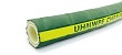 Chemical hose with a food quality UHMWPE liner for use with acids and chemicals.