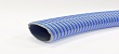 Superelastic PVC suction discharge hose for industrial water, waste water and slurry. High-quality PVC with rigid PVC spiral, offering an extremely flexible hose, also under cold conditions.
